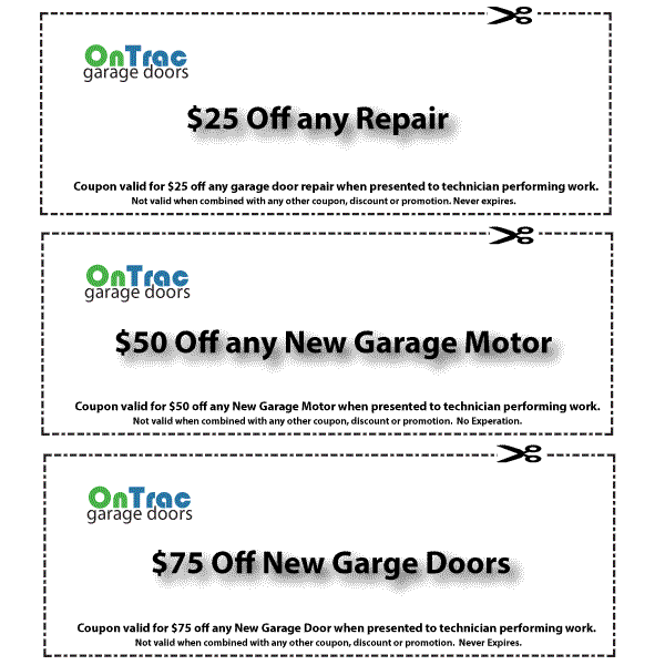 Brentwood Garage Door Service Coupon